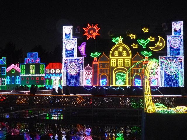 木曽三川公園冬のイルミネーション 〜旅行ブログ②〜