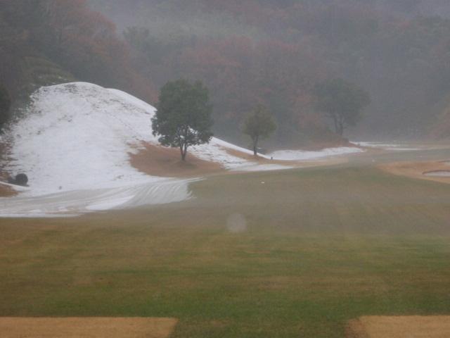 残雪 〜雨に打たれて〜