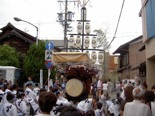 日本一やかましい祭り「桑名の石取祭」