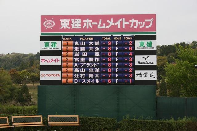 東建ホームメイトカップ2014〜決勝ラウンド1日目〜