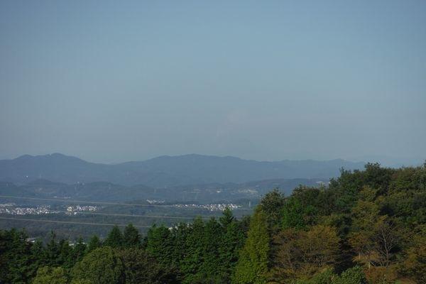 塩河カントリーから見た御嶽山