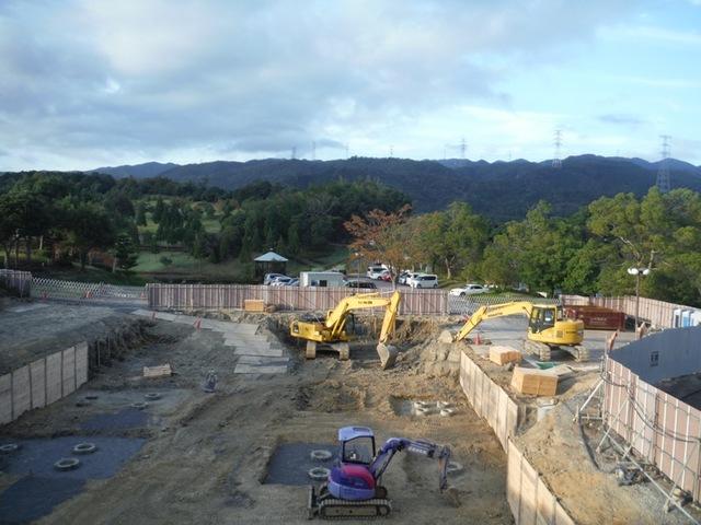 ホテル多度温泉新館建設中です