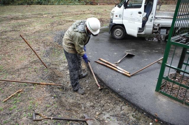 排水工事U字溝設置