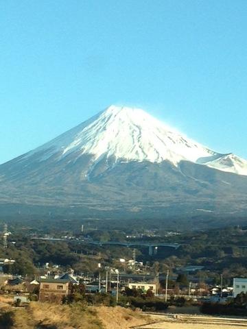 雪見富士!!