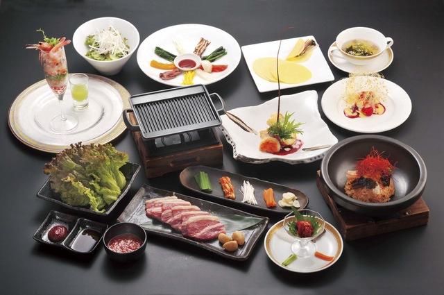 【西洋風韓国料理】サムギョプサルコース