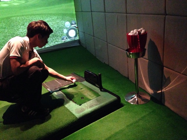 シミュレーションゴルフ体験!