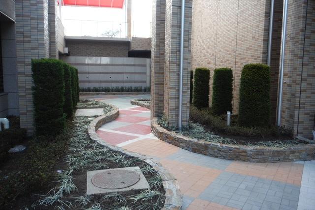 立体的な庭園♪