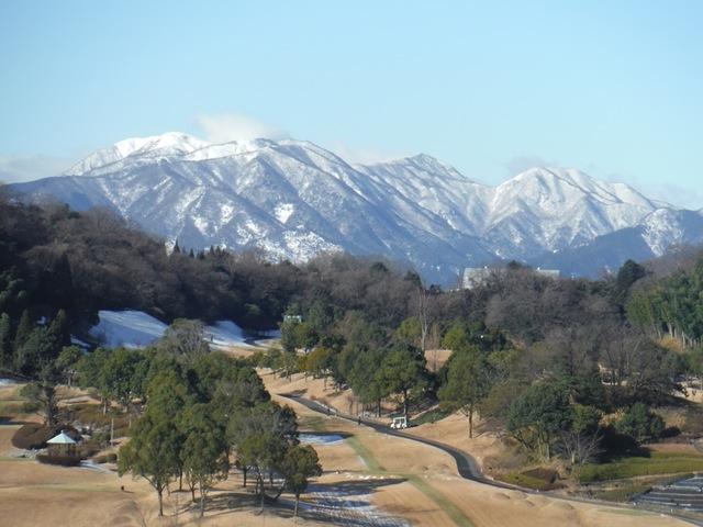 ホテル多度温泉「レジデンス新館」屋上からの眺望
