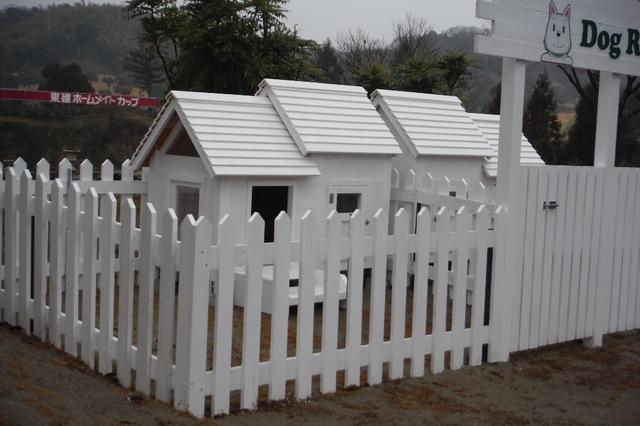 ピコとチャッピーの別荘が出来ました。