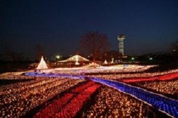 木曽三川公園センター・冬の光物語