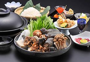 ホテル多度温泉夕食メニュー「すっぽん鍋コース」のご紹介