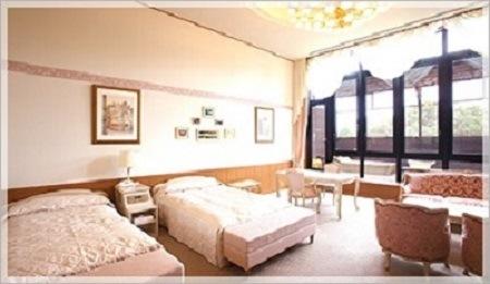 客室 クラブハウス本館 『デラックスツイン』 個室露天風呂付