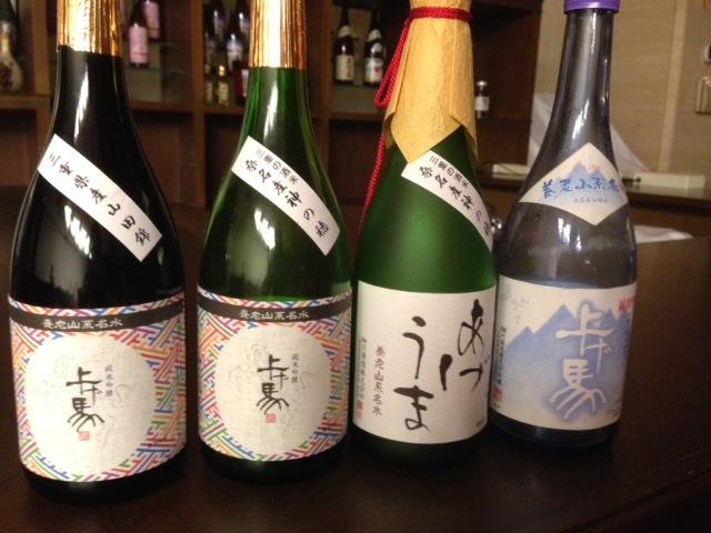 日本酒の美味しい季節ですね♪