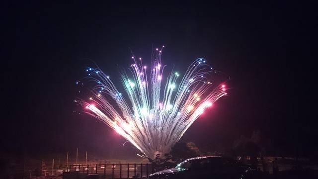 三重の花火