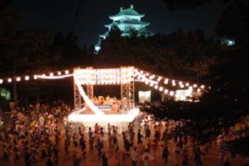 名古屋城 夏まつり 開催