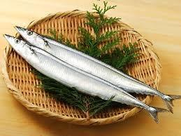 秋刀魚の松茸射込み
