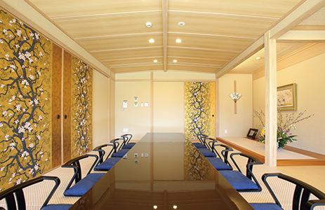 レジデンス新館個室(和室・ご会食会場)のご案内です。