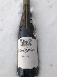 雪化粧と天然ワインクーラー