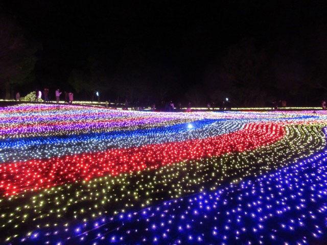 木曽三川公園イルミネーション♪