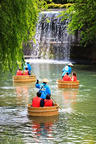水の都おおがき舟下り/たらい舟