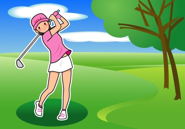 ゴルフのあとは…