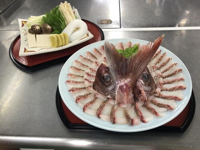 旬魚しゃぶしゃぶ