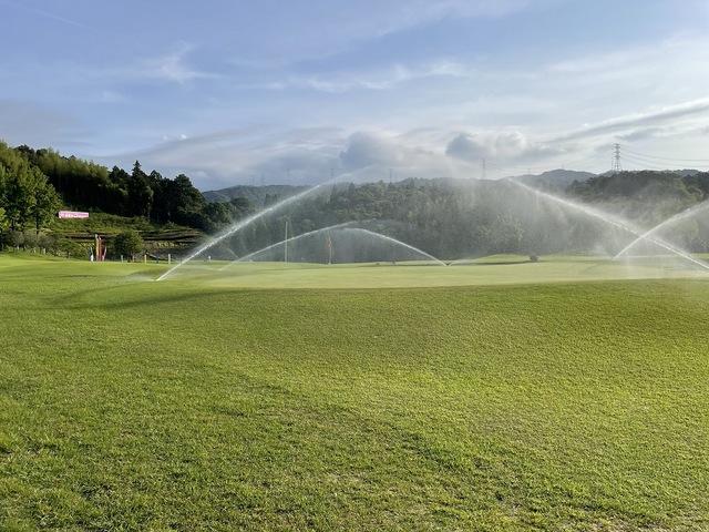 梅雨時期の散水