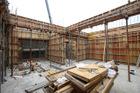 六階柱壁型枠工事③