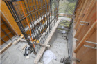 屋外階段工事