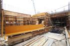 六階壁梁型枠工事①