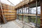 六階壁梁型枠工事②