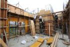 六階壁梁型枠工事⑥