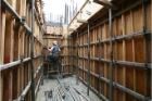 六階壁梁型枠工事⑧