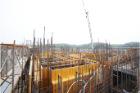 六階壁梁型枠工事⑩