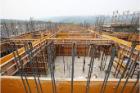 六階壁梁型枠工事⑪
