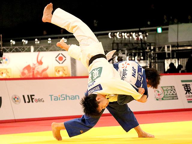 柔道グランドスラム東京2016 男子66kg級 決勝戦 阿部一二三 vs 橋口祐葵�A