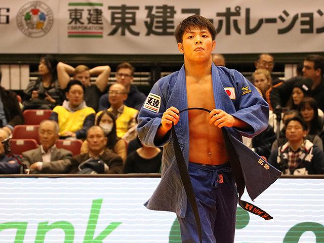 柔道グランドスラム東京2016 男子66kg級 準決勝 阿部一二三 vs 磯田範仁�A