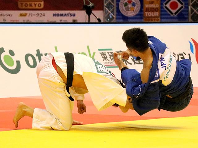 柔道グランドスラム東京2017 男子66kg級 決勝戦 阿部一二三 vs 丸山城志郎�A