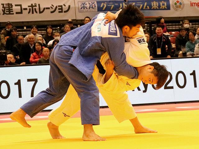 柔道グランドスラム東京2017 男子66kg級 準々決勝戦 阿部一二三 vs T.DAVAADORJ�@