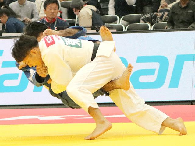 柔道グランドスラム大阪2018 男子66kg級 準々決勝 阿部一二三 vs A.GRIGORYAN
