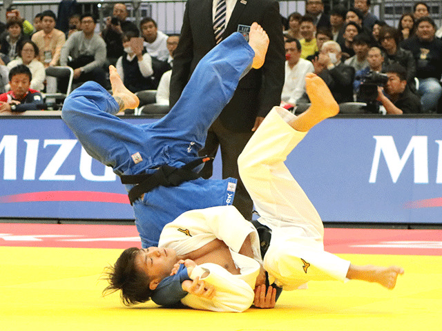 柔道グランドスラム大阪2018 男子66kg級 3回戦 阿部一二三 vs L.KIELBASINSKI
