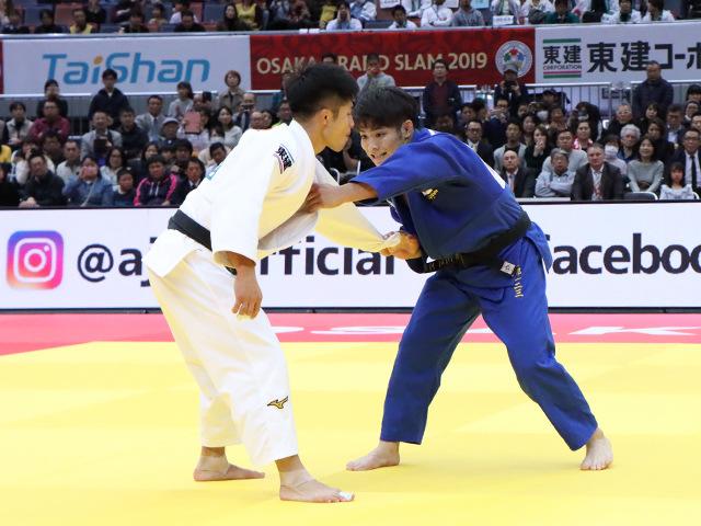 柔道グランドスラム大阪2019 男子66kg級 決勝戦 阿部一二三 vs 丸山城志郎�A