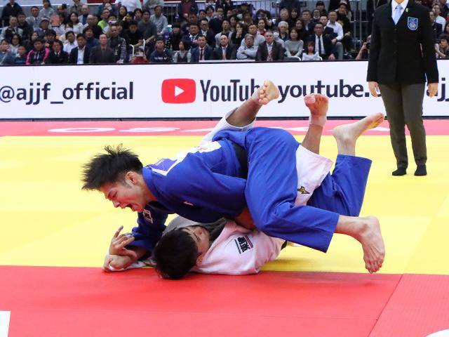 柔道グランドスラム大阪2019 男子66kg級 決勝戦 阿部一二三 vs 丸山城志郎�B