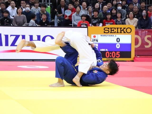 柔道グランドスラム大阪2019 男子66kg級 決勝戦 阿部一二三 vs 丸山城志郎�C