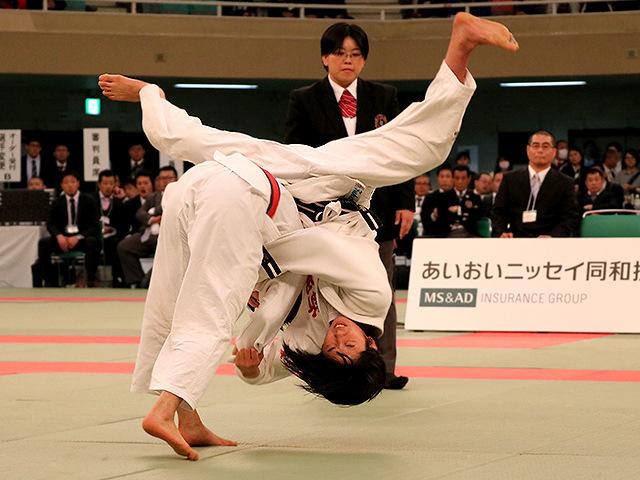 第39回全国高等学校柔道選手権大会 女子52kg級 決勝戦 阿部詩 vs 児玉風香�A