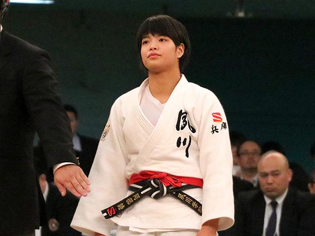 第39回全国高等学校柔道選手権大会 女子52kg級 決勝戦 阿部詩 vs 児玉風香�B