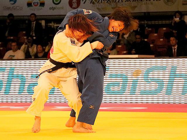 柔道グランドスラム東京2016 女子52kg級 決勝戦 阿部詩 vs 角田夏実