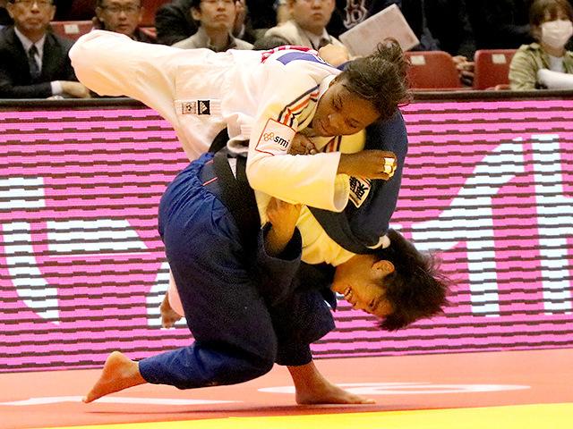 柔道グランドスラム東京2016 女子52kg級 2回戦 阿部詩 vs A.GNETO