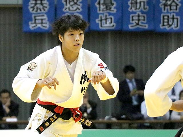 平成29年度講道館杯全日本柔道体重別選手権大会 女子52kg級 決勝戦 阿部詩 vs 立川莉奈�A