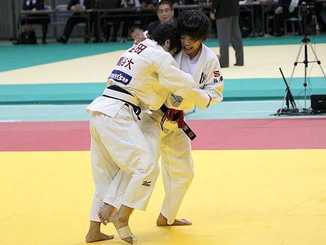 平成29年度講道館杯全日本柔道体重別選手権大会 女子52kg級 3回戦 阿部詩 vs 武田亮子